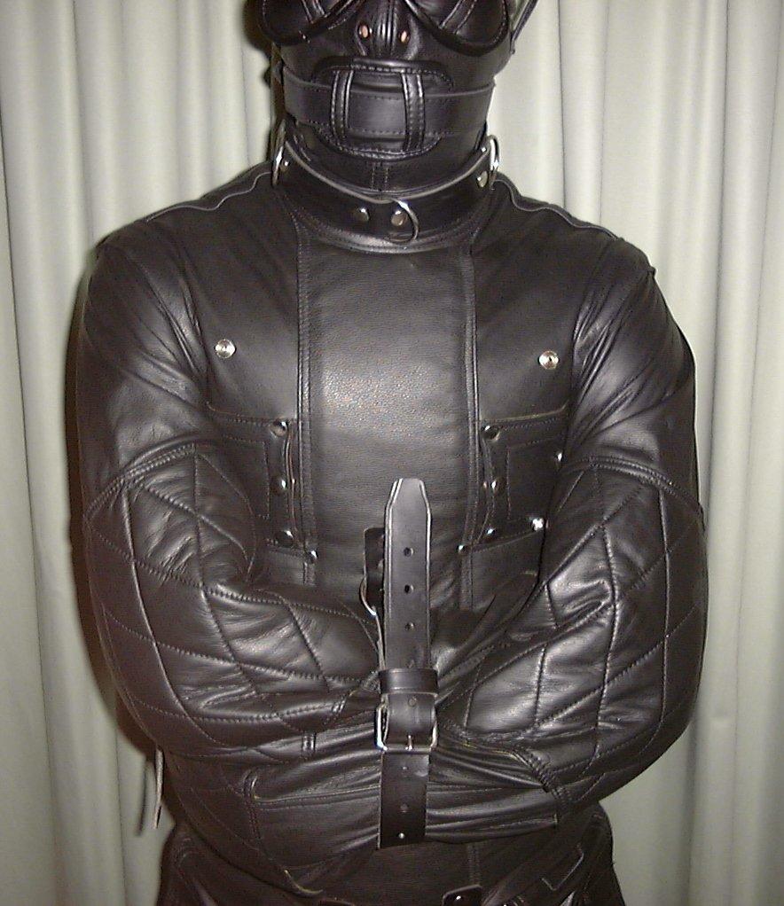 Similiar Leather Straight Jacket Keywords
