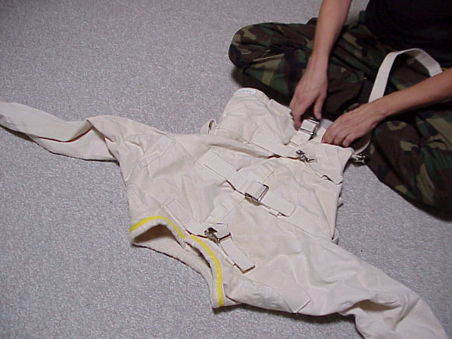 Getting into a Straitjacket