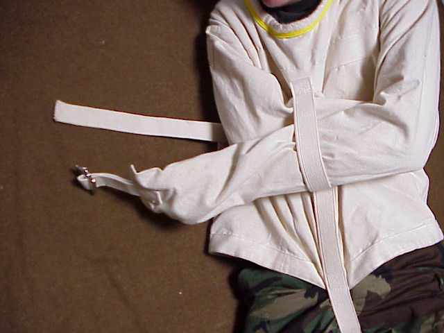 Putting On A Straight Jacket - JacketIn